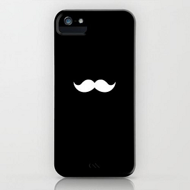 coque-iphone-5-black-mustache