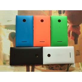 Original-Housing-font-b-Battery-b-font-Back-Cover-for-Nokia-Lumia-435-Case-Frosted-Door